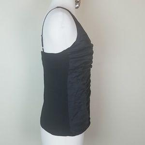 Cache Tops - 🍄Cache black top sleeveless rhinestones small